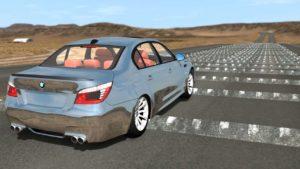 simulation:  With more than 160 km / h 100 Temposchwellen rasen