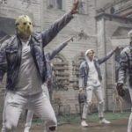 """Horror-Ikonen gründen """"Slashstreet Boys"""" für ein witziges Musikvideo"""