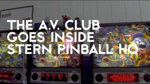 Ligesom en pinball maskine er lavet