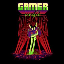 Gamer Until Death: Das Shirt für Zocker