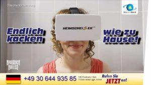 Kakka kotona: Miten Virtual Reality Heimscheissern auttaa tekemään paalun