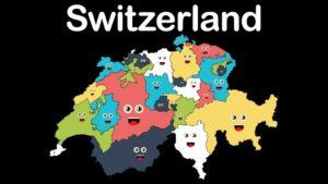 Kantone erklären singend die Schweiz