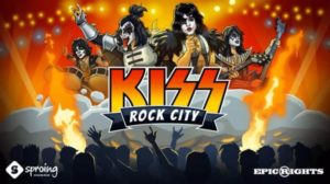 KISS Rock City: Mobil spil til iOS og Android