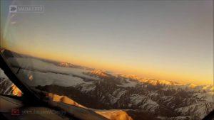 Sicht eines Piloten: Landeanflug auf Neuseeland