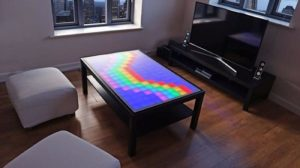 The LED Table: A luminous table for home