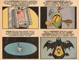 Wie bei der Justice League gepinkelt wird