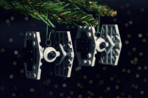Bauanleitung für Star Wars Lego Weihnachtsbaumschmuck