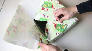 Sans bande et cordon: Cadeaux d'emballage de style japonais