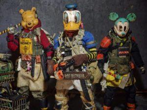 Japanischer Künstler verwandelt Spielzeug in postapokalyptische Fighter