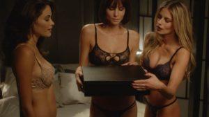 Sexy Weihnachts-Werbeclip von Coco de Mer