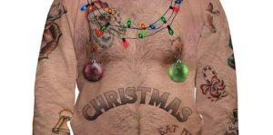Sexy Weihnachts-Pulli für die Feiertage
