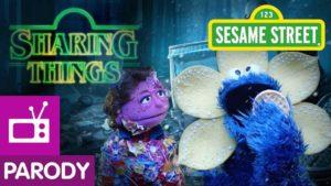 "Sharing Things: Sesamstrasse parodiert ""Stranger Things"""