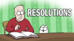 Simon's Cat: Instructions for New Year's Resolutions