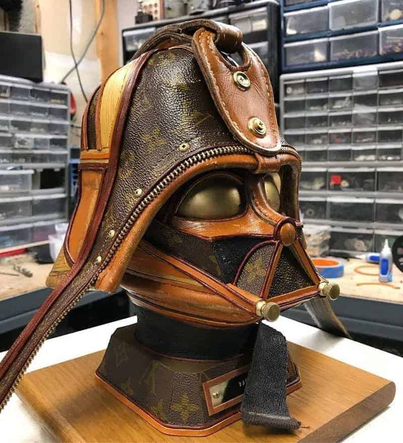 c92086c29e0c Star Wars sculptures made of Louis Vuitton bags