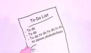 A New Year To-Do List