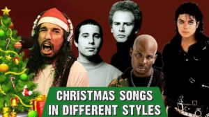 Christmas in the style of Metallica and Co.