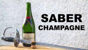 Comment ouvrir une bouteille de champagne avec une épée