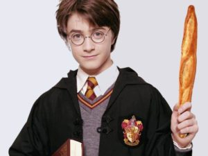 Baguette Magique: Alors baguette appelé Harry Potter en français