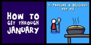 Wie man am besten durch den Januar kommt