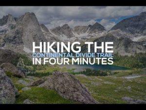 In 4 Minuten von Mexiko nach Kanada wandern