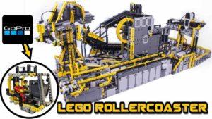 Lego Technic Achterbahn
