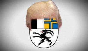 Uma mensagem para Donald Trump de Graubünden, Suíça