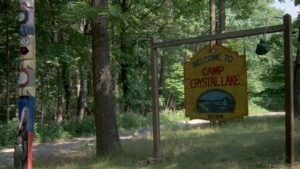 Friday the 13th: Overnight at the original location as camping experience