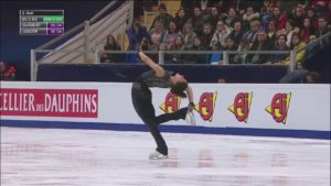 Eiskunstläuferin Ivett Toth machte AC/DC olympisch