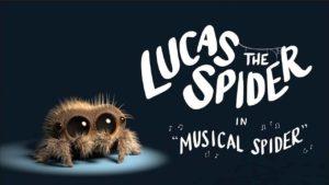 Lucas the Spider: Die niedlichste Spinne der Welt macht Musik