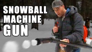 Wie man sich ein Schneeball-Maschinengewehr bastelt