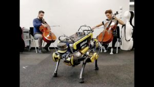 En robot lærer å danse