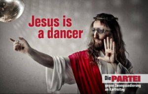 Jesus is a dancer