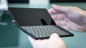 Gemini PDA: Aufklappbares Tastatur-Smartphone im Psion-Stil