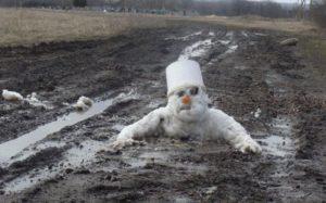 Hab ein letztes Mal den Winter gesehen...