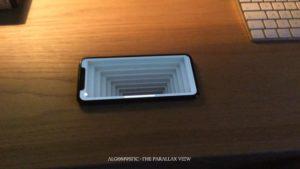 The Parallax View: Coole optische 3D-Illusion mit dem iPhone X