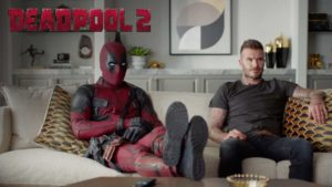 Deadpool apologizes to David Beckham