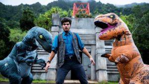 Jurassic World Real Life Parkour