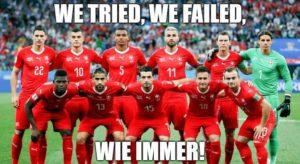 WM 2018: We tried, we failed, wie immer!
