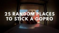 Alltag aus neuen Perspektiven: Skurrile Plätze für eine GoPro