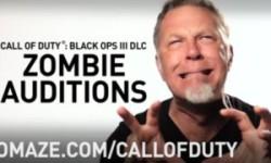"""Metallica's James Hetfield als Zombie in """"Call Of Duty"""""""